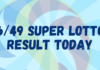 6/49 Super Lotto