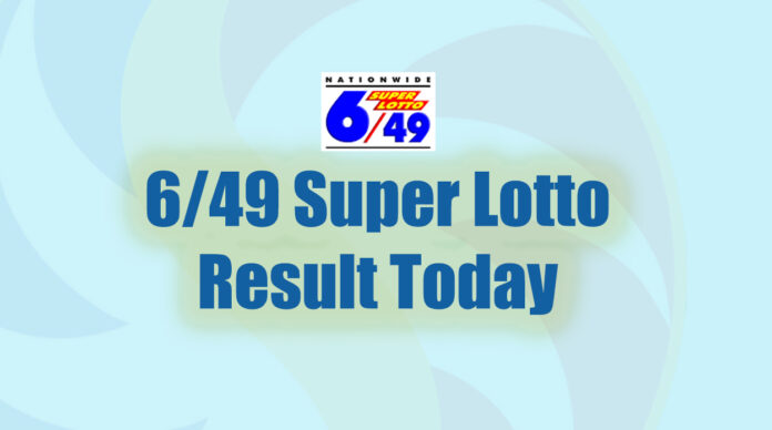 6/49 Super Lotto Result Today