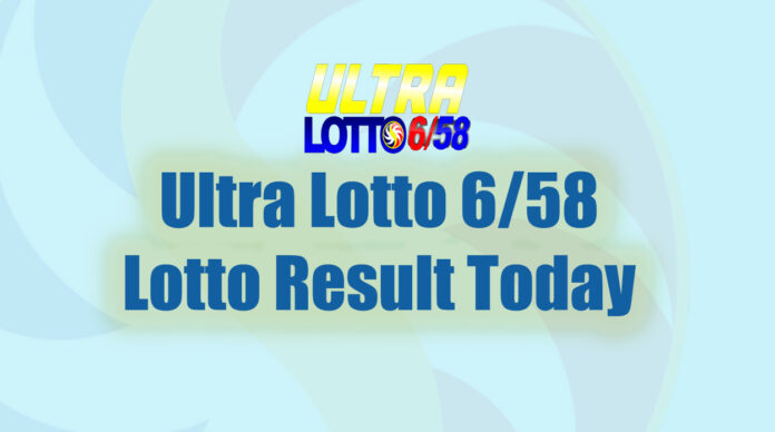 6/58 Ultra Lotto Result Today