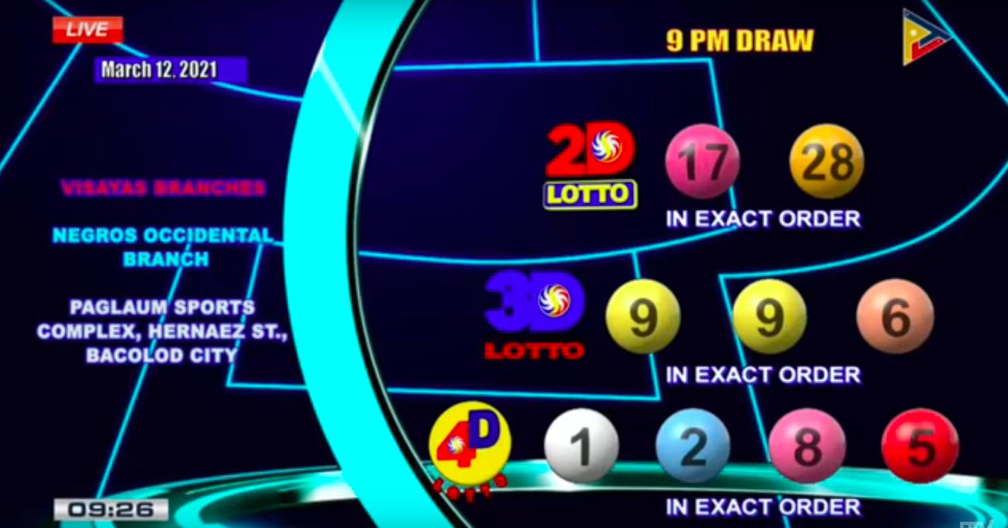Previous Lotto Result
