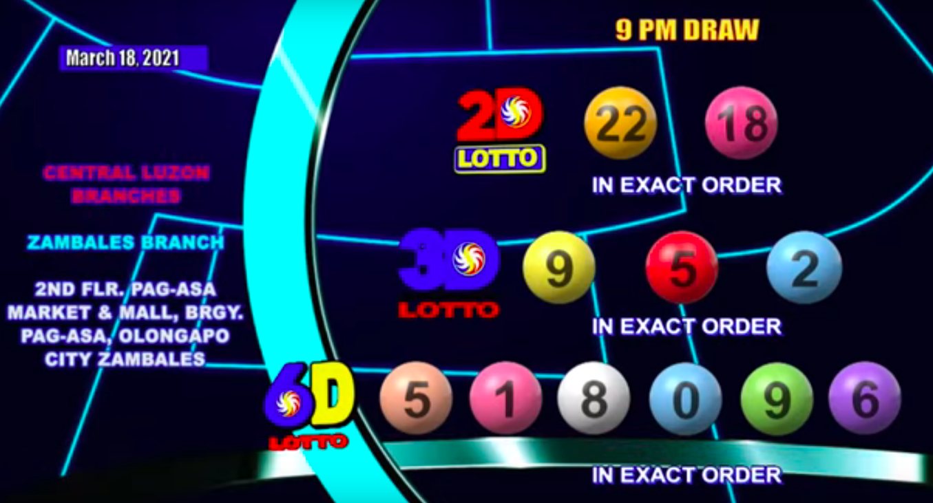 3D Lotto Result Today